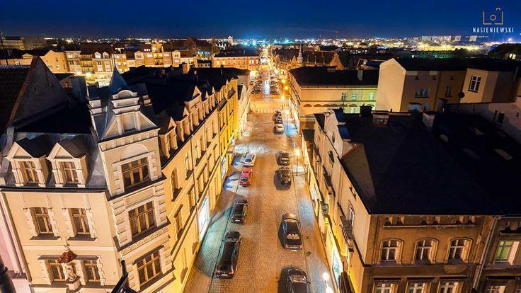 Grudziadz, Ulica Mickiewicza nocą. Nov'13