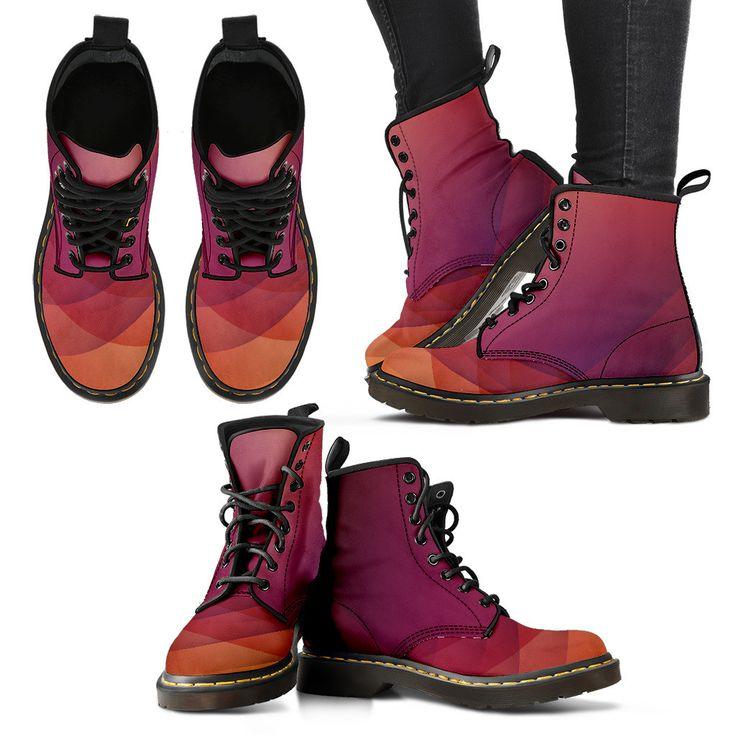 Purple women's Boots
