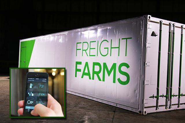 Shipping Containers Are Having a Second Life as Mini Farms