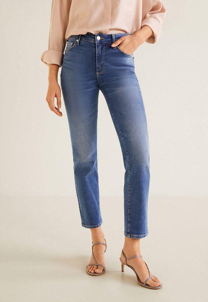 a857c29909e Дамски прави #Дънки Curve X - Mango | Дамски Дънкки | Jeans, Denim ...