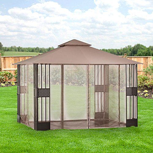 Swedish Cabin With Roof Top Garden And Retractable Outdoor: 10 Best Gazebo Roof Replacement Images On Pinterest