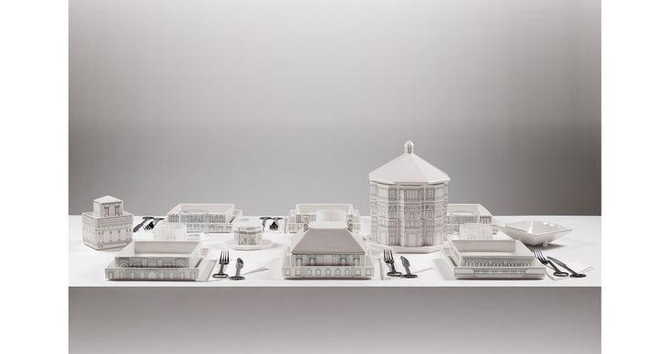 PALACE. Alessandro Zambelli (2011) dolomite porcelain. tableware
