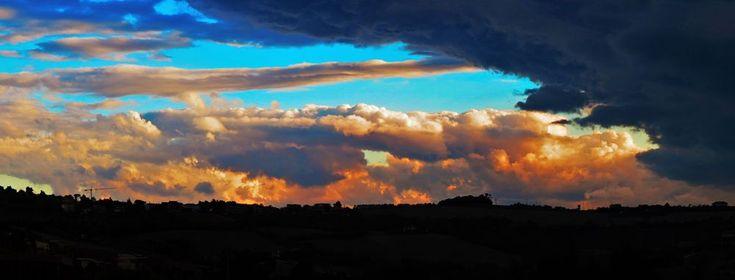 Ancona, Marche, Italy - Storm by Gianni Del Bufalo CC BY-NC-SA IMG_6042 STITCH