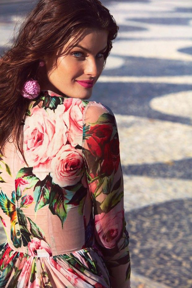"totallyinlovewithfashion: "" Isabeli Fontana by Enrique Badulescu for Madame Figaro June 2016 """