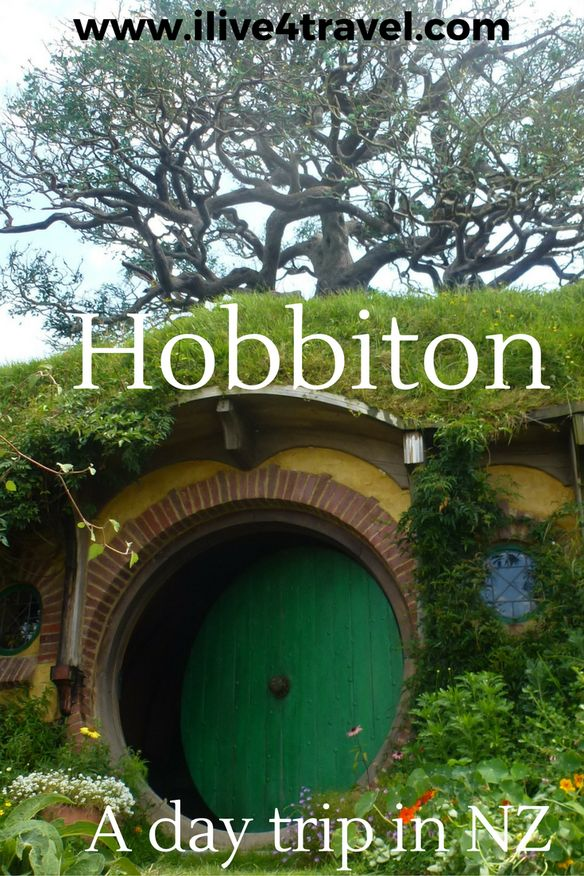 Hobbiton. A day trip in New Zealand