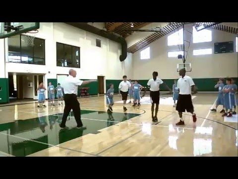 Passing Drill for Youth Basketball Baker Drills Review by George Karl - YouTube