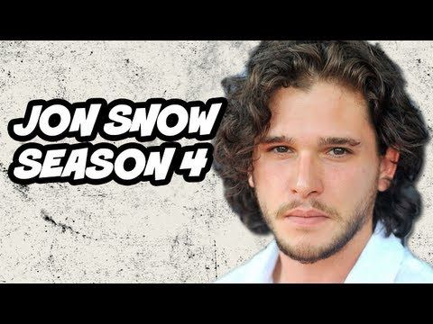 Game of Thrones Season 4 Preview - Jon Snow - Game of Thrones Season 4 Preview Part 7 - Jon Snow. Predictions, Ygritte Wildling Battle, The Wall, new Lord Commander, Stannis Army and White Walkers.