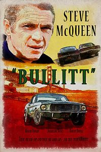 Steve Mcqueen Digital Art - Bullitt Poster by Kai Saarto