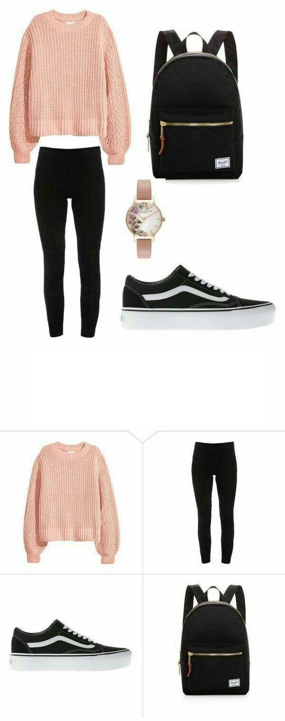 18 Outfits für Teenager für Schule & Damenmode für die Arbeit