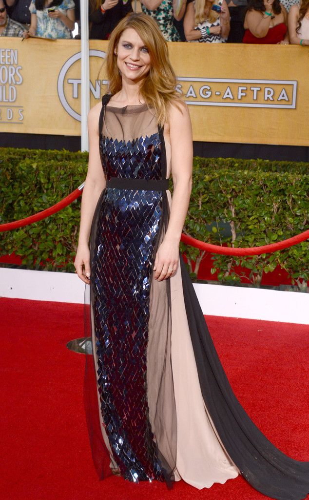 Claire Danes from 2014 SAG Awards: Red Carpet Arrivals | E! Online