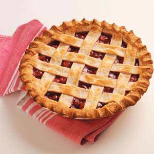 Homemade Cherry Pie Filling Recipe -Fresh tart cherries give this pie filling a homemade flavor that's superior to canned.