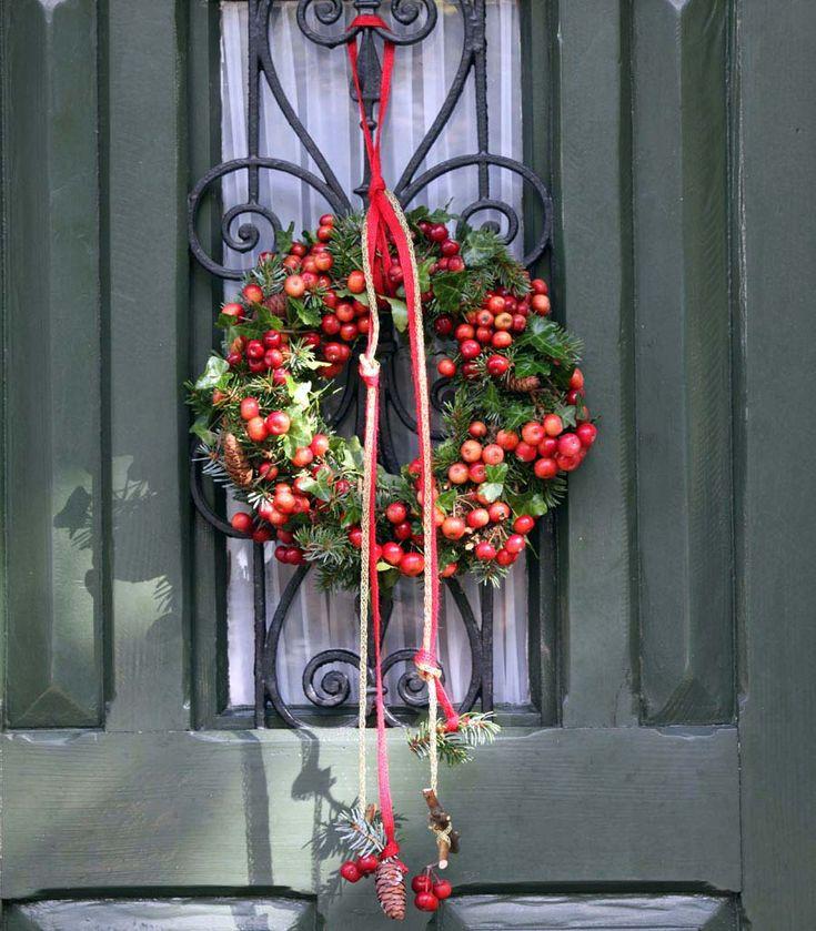 Ein Kranz Steht Jeder Tür Gut Zu Gesicht, Gerade Jetzt In Der  Weihnachtszeit. Wir Haben Ganz Unterschiedliche Varianten Für Euch  Zusammengestellt.