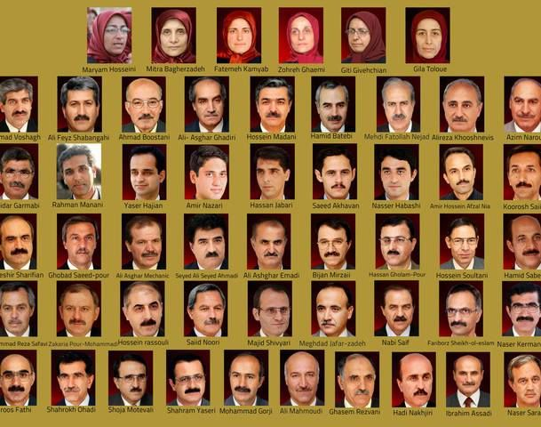 Pictures and names of  the 52 PMOI members who were killed by the Iraqi forces  during the September 1, 2013 massacre.