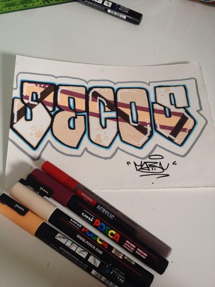 En voilà un autre ! #Secos #Canson #Automne  #Graff #Graffiti #Art #StreetArt #Tag #letters #papier #Likes #Amazing #Photographie #Draw #Support #Posca #Peint #Peinture