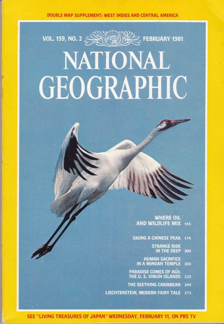 National Geographic Magazine, February 1983
