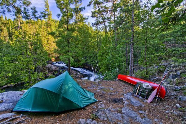 Backcountry Canoe Camping - photo by Jim DavisCamps Destinations, Backcountry Canoes, Canoe Camping, Canoes Camps, Outdoor Living, Canoes Trips, Backcountry Camps, Camps Trips, Camps Tips