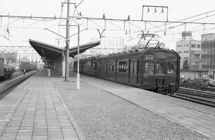 73系赤羽線板橋駅
