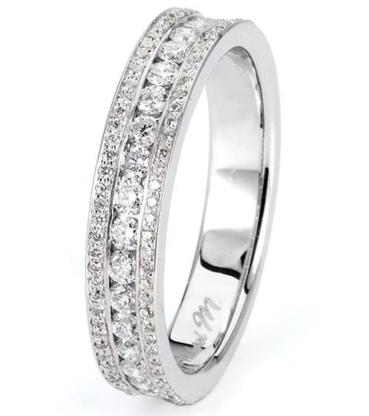 Wedding band to match with my engagement ring :)