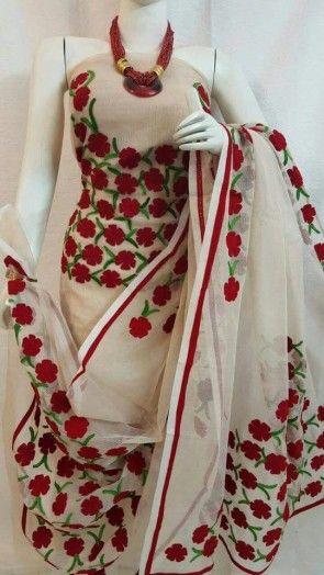 Explore Latest #Suits for Women with embriodery  like #kantha_work, #kutch_work, #phulkari_suits. Buy online today!