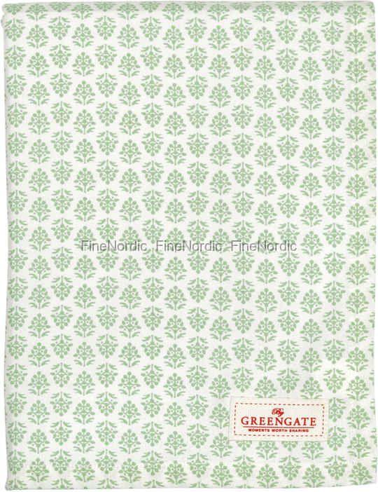 GreenGate Dug - Tablecloth Ashley Green 250 x 145 cm