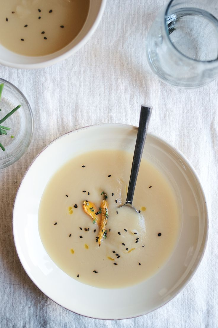Miso Yam Soup with Sesame-Roasted Carrots {recipe} | Dolly and Oatmeal