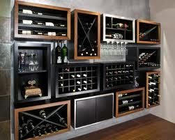 wall hung wine unit - Google Search