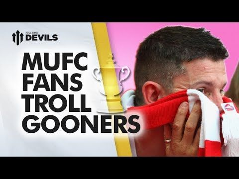 Manchester United Fans Troll Gooners | FA Cup Final - Arsenal vs Hull City