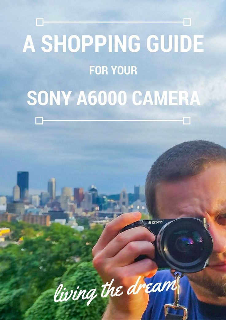 I absolutely adore my Sony a6000 camera. The mirrorless camera is light, portable, and takes some of the best images I've ever taken in my 8+ years as a travel photographer. Click here for your shopping guide for your Sony a6000 camera