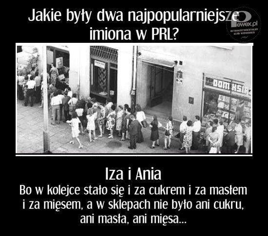 Z cyklu popularne imiona w PRL-u – Iza i Ania!