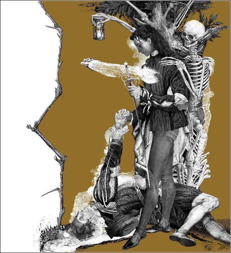 Romeo & Juliet. Illustrator Vladyslav Erko. Владислав Ерко, Ромео и Джульетта
