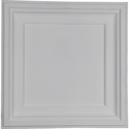 23 7/8 inchW x 23 7/8 inchH x 2 1/2 inchP Traditional Ceiling Tile
