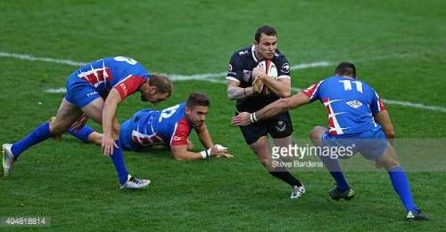 12-22 LONDON, ENGLAND - OCTOBER 29: Glen Bellam of the New... #taurines: 12-22 LONDON, ENGLAND - OCTOBER 29: Glen Bellam of the… #taurines