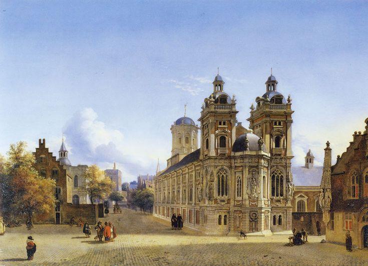 Jan van der Heyden - Church Square, memories