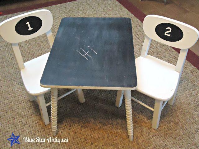 Kid's Chalkboard Table - Is it a Keeper? DIY