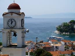 Skiathos - A view to the old harbour