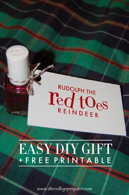 Easy Gift for Under $10!- It would be fun to have a spa pamper or mani-pedi night and give these as little take-home gifts.