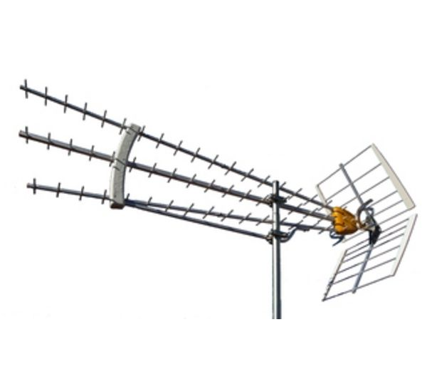 Televes antenne dat75 uhf 21 69 tnt hd sp cial r ception for Antenne tnt exterieur reception difficile