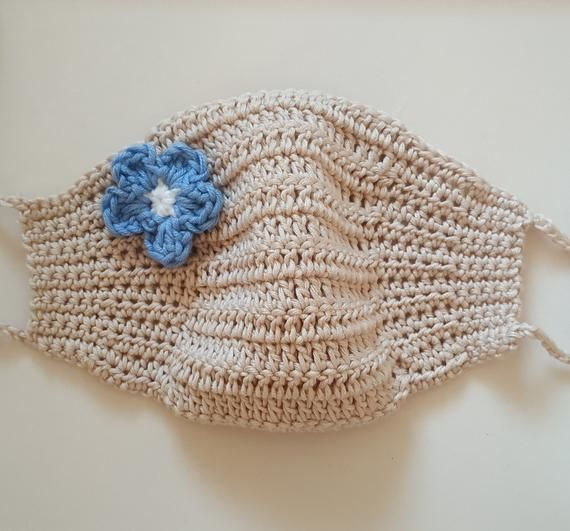 Crochet Face Mask Pattern With Filter Pocket Etsy Mascarillas Tejidas Pdf Pattern Only Written In English Using In 2020 Crochet Faces Crochet Mask Crochet