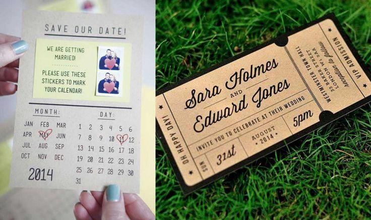 Estas son las 18 invitaciones de bodas más innovadoras y extraordinarias que existen – Upsocl