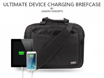 Legion Concepts-Ultimate Device Charging Briefcase