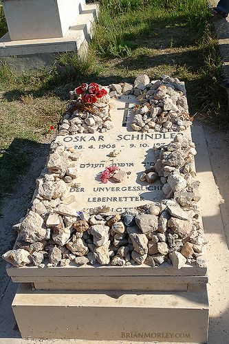 I want to see Oskar Schindler's grave, at Yad Vashem