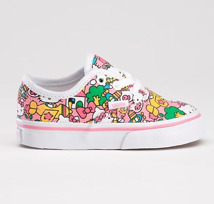 Hello Kitty Vans Shoes | Introducing The New Hello Kitty Vans Shoes For Babies & Toddlers ...