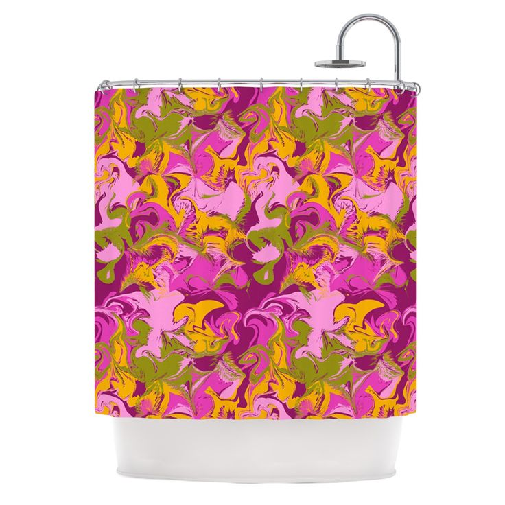 yellow and purple shower curtain. Anneline Sophia  Marbleized In Plum Pink Purple Shower Curtain Best 25 shower curtains ideas on Pinterest home