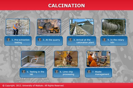 Calcination | Sciencelearn Hub