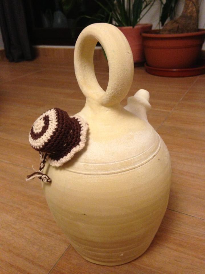 Tapon de crochet para botijos decoraci n de hogar for Decoracion hogar a crochet