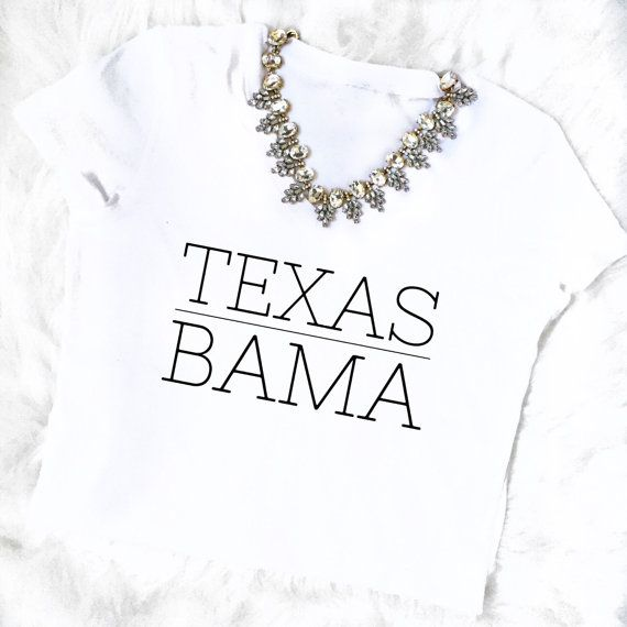 TEXAS BAMA // Beyonce Formation inspired por LetsPartyCreations