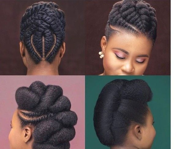 Natural Hair Style With Images Natural Hair Wedding Natural
