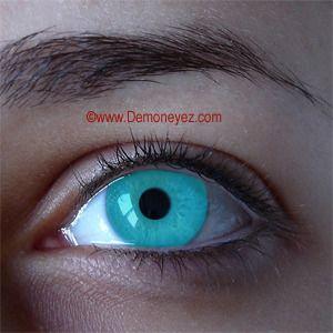 Frozen Ghost Halloween Contact Lenses - Demon Eyez