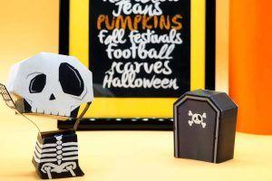 Les 5 paper toys à imprimer pour Halloween ! - Soho Hana