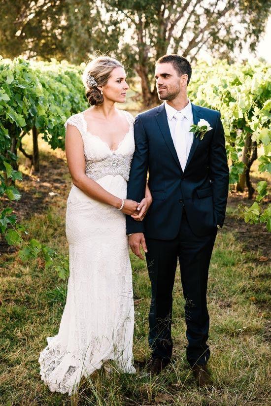 Ashlee & Jared's Sweet Perth Winery Wedding